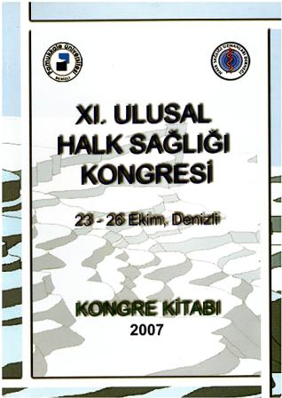 11. Ulusal Halk Sağlığı Kongresi Kongre Kitabı