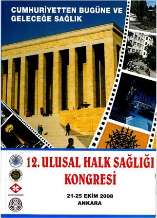 12. Ulusal Halk Sağlığı Kongresi Kongre Kitabı