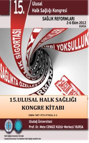 15. Ulusal Halk Sağlığı Kongresi Kongre Kitabı