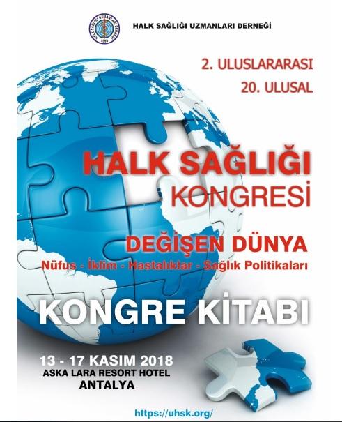 2. Uluslararası Halk Sağlığı Kongresi Kongre Kitabı
