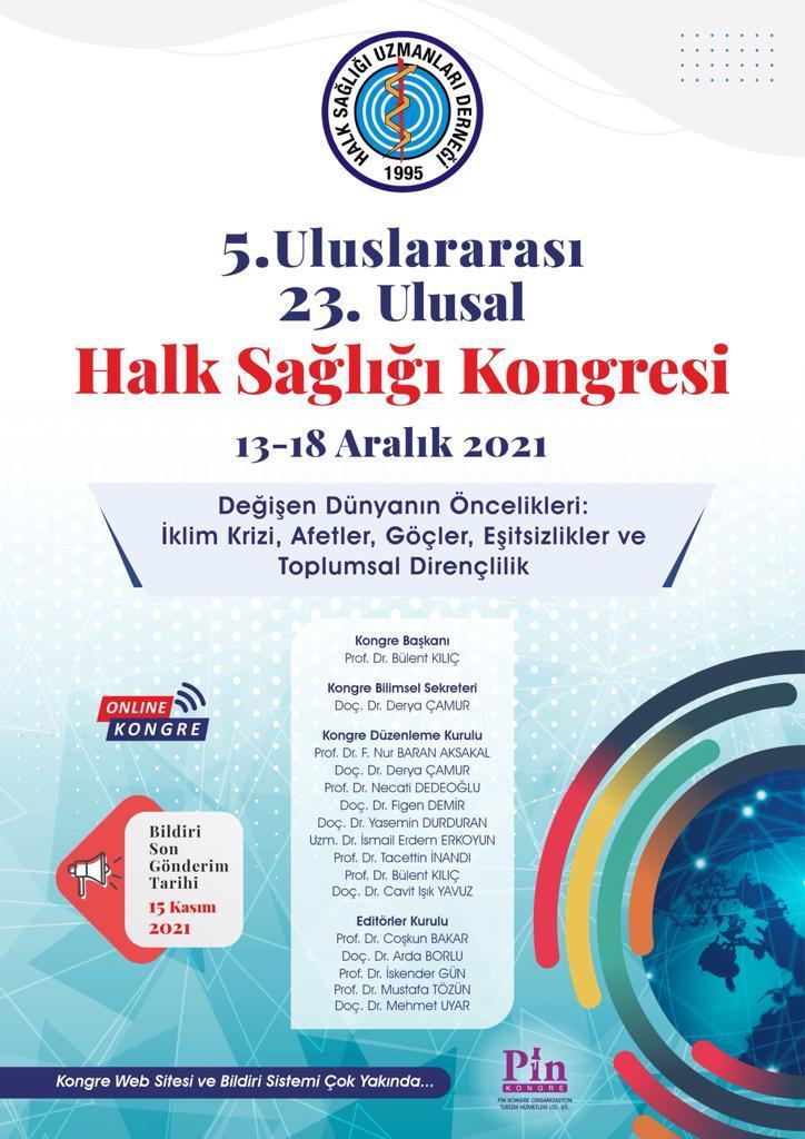 5. Uluslararası 23. Ulusal Halk Sağlığı Kongresi