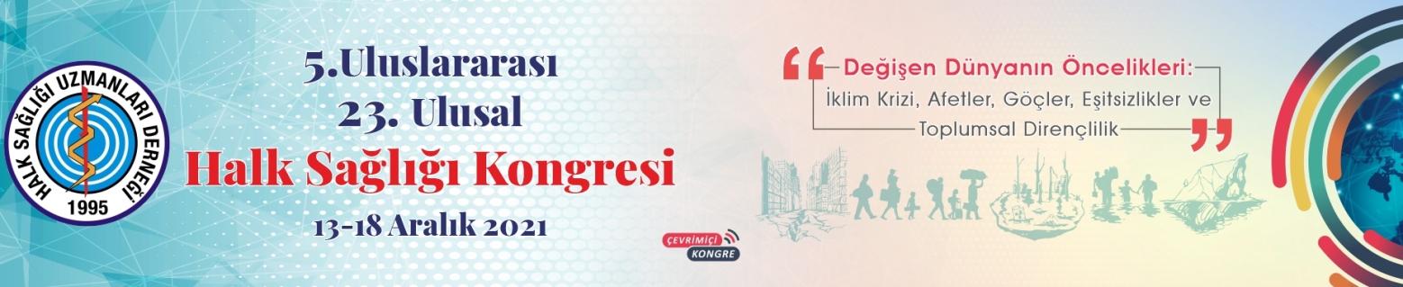 5. Uluslararası 23. Ulusal Halk Sağlığı Kongresi_Slide