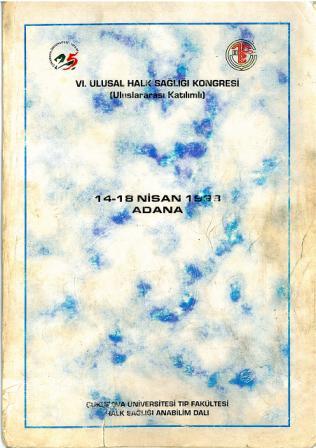 6. Ulusal Halk Sağlığı Kongresi Kongre Kitabı