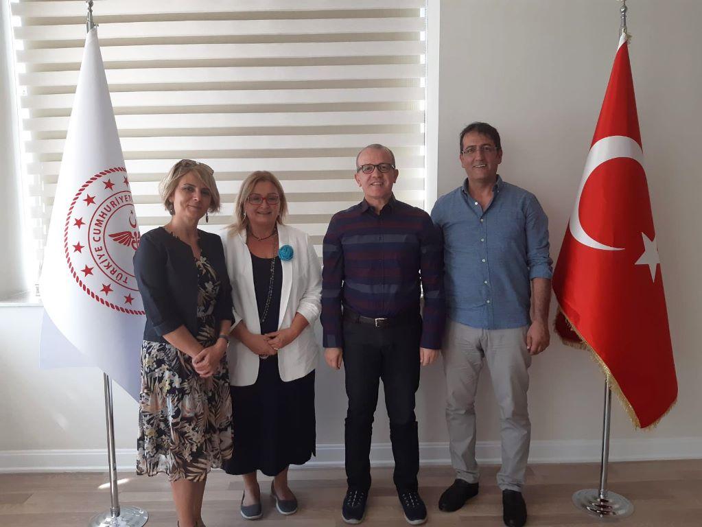 Antalya İl Sağlık Müdürlüğü Ziyareti