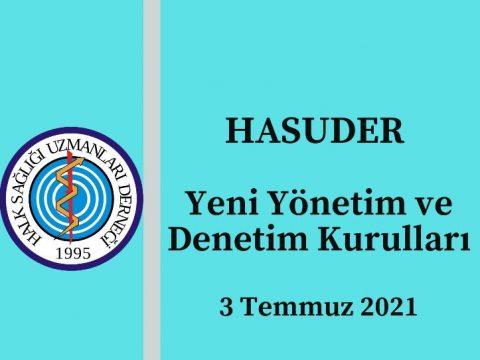 HASUDER Genel Kurulu 3 Temmuz 2021