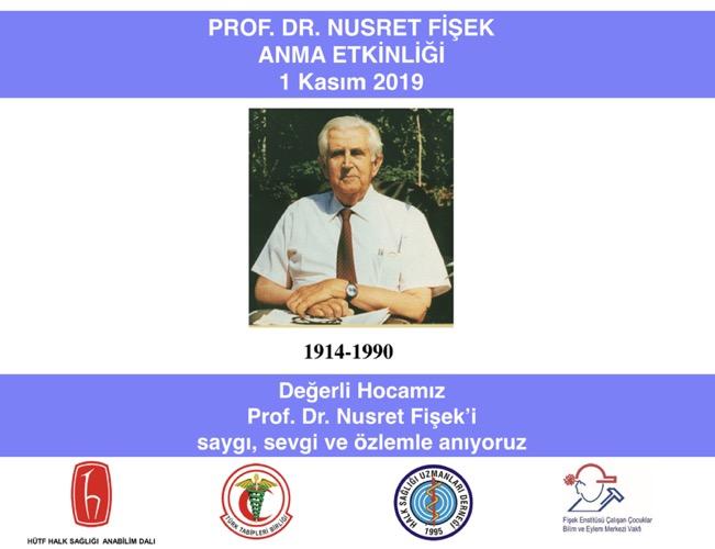 Prof. Dr. Nusret Fişek