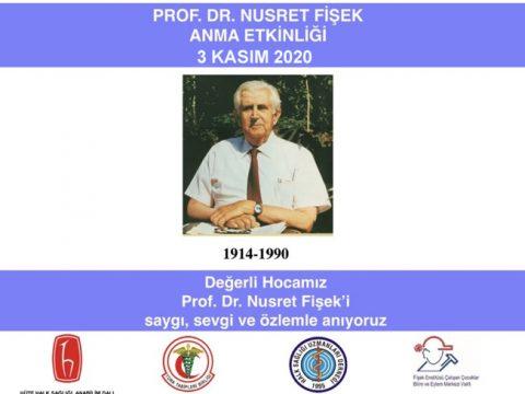 Prof. Dr. Nusret Fişek Anma Etkinliği 3 Kasım 2020