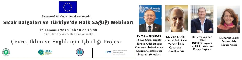 Sıcak Dalgaları ve Türkiye de Halk Sağlığı Webinarı