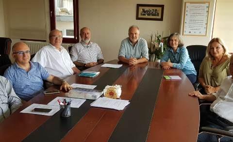Türk Tabipleri Birliği Merkez Konseyi Ziyareti