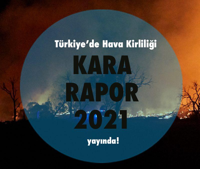 Türkiye'de Hava Kirliliği Kara Rapor 2021