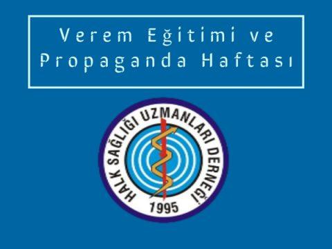 Verem Eğitimi ve Propaganda Haftası